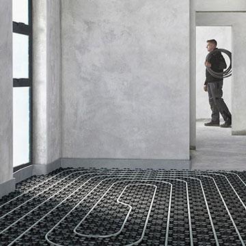 pannelli radianti a pavimento installazione
