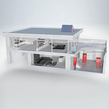 Installazione caldaie a condensazione per aziende e abitazioni
