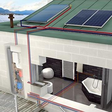 caldaia a condensazione ibrida ed impianti fotovoltaici